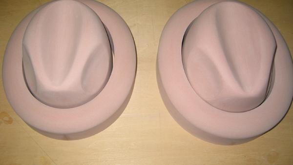 帽子の樹脂型